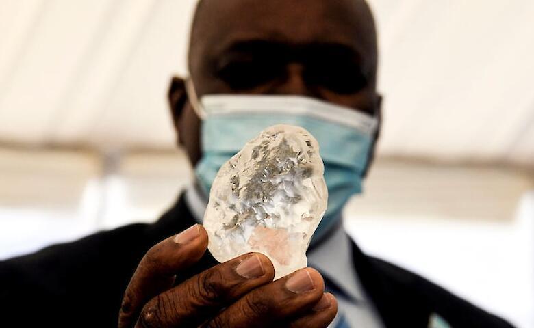 В Ботсване нашли один из крупнейших алмазов в мире