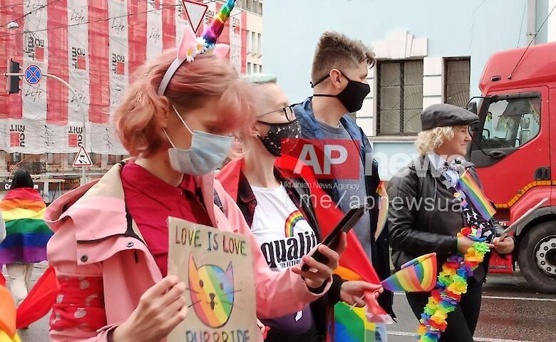 Националисты, радикалы и полицейские кордоны. Как в центре Киева готовятся к ЛГБТ-маршу. Фото